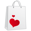 128x128px size png icon of shoppingbag