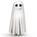128x128px size png icon of Shy ghost