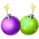 128x128px size png icon of firecracker 2