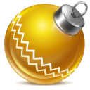 128x128px size png icon of ball yellow 1