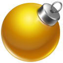 128x128px size png icon of ball yellow 2