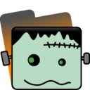 128x128px size png icon of Frankenstein