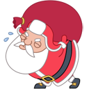 santa heavy bag Icon