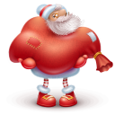 128x128px size png icon of santa gift