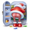 128x128px size png icon of santa steal