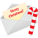 128x128px size png icon of Christmas Letter