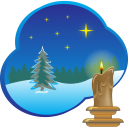 128x128px size png icon of Christmas picture