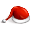 128x128px size png icon of Santa cap