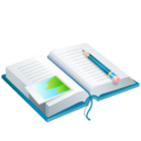128x128px size png icon of Holiday Diary