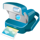 128x128px size png icon of Polaroid Camera