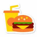 128x128px size png icon of Fast Food