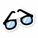 Nerd Glasses Icon