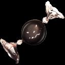 128x128px size png icon of bonbon wblack
