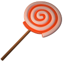 128x128px size png icon of lolly spiral