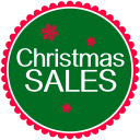 128x128px size png icon of Christmas Sales