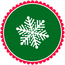 128x128px size png icon of Christmas Snow Flakes 3