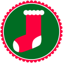 128x128px size png icon of Christmas Stockings