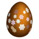 128x128px size png icon of easter egg 3