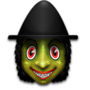 128x128px size png icon of Witch