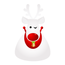 128x128px size png icon of deer