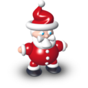 128x128px size png icon of Santa