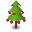 128x128px size png icon of Xmas Tree