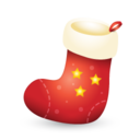 128x128px size png icon of Xmas stocking