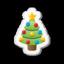 128x128px size png icon of Xmas sticker tree