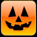 128x128px size png icon of Happy Jack O Lantern