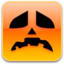 128x128px size png icon of Sad Pumpkin