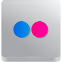 128x128px size png icon of Flickr