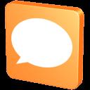 128x128px size png icon of Forum Orange