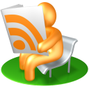 128x128px size png icon of RSS Reader