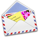 128x128px size png icon of AirMail Photo