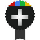128x128px size png icon of google plus
