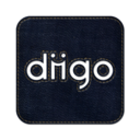 128x128px size png icon of Diigo square