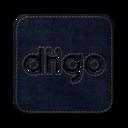 128x128px size png icon of Diigo square