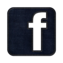 128x128px size png icon of Facebook square