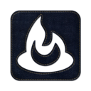 128x128px size png icon of Feedburner square