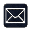 128x128px size png icon of Mail square