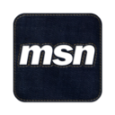 128x128px size png icon of Msn square