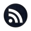 128x128px size png icon of Rss circle