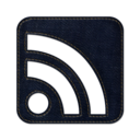128x128px size png icon of Rss cube