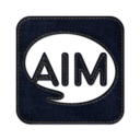 128x128px size png icon of aim square