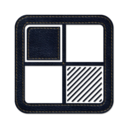 128x128px size png icon of delicious square
