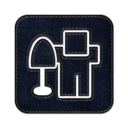128x128px size png icon of digg square