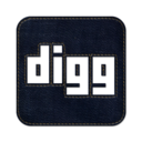 128x128px size png icon of digg2 square