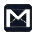 128x128px size png icon of gmail square 2