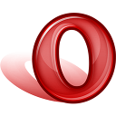 128x128px size png icon of Browser opera