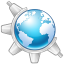 128x128px size png icon of Konqueror